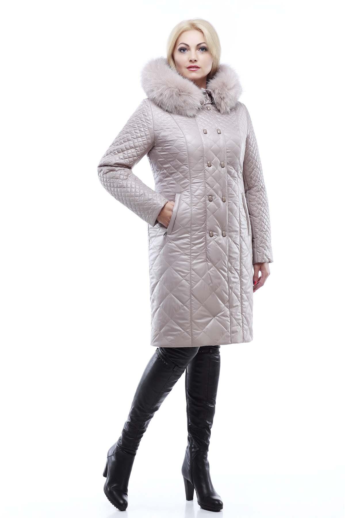 f5216f1bb10 Зимнее стеганое пальто Аннет Зима