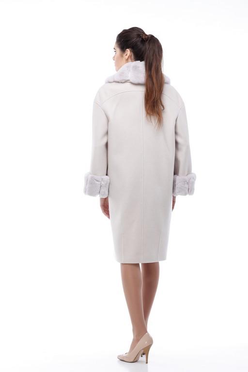 Зимове пальто Монро зефірний