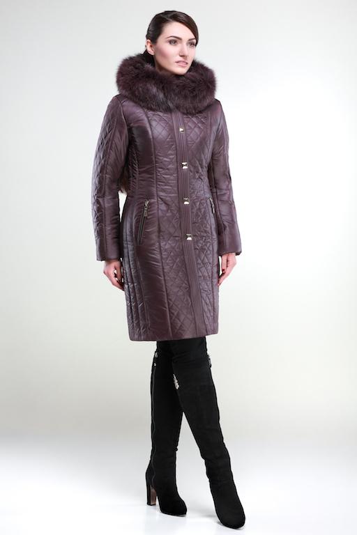 Зимнее пальто Шанель Зима