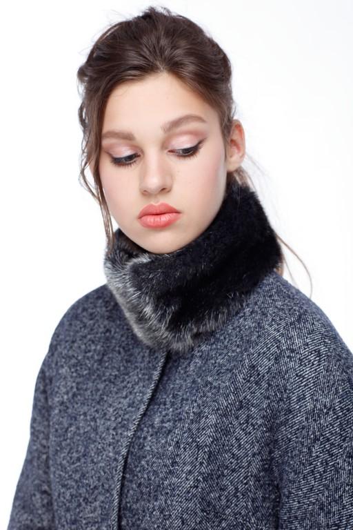 Зимове пальто Лукреція Зима хутро