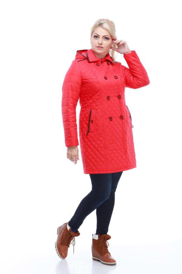 Куртка Диана ярко-красный