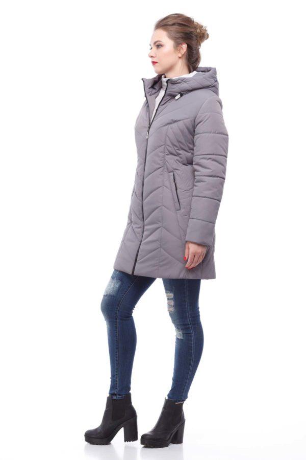 Куртка Стела ammy светлый антрацит матовый