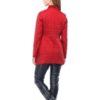 Куртка Лейла плащ. темно-красный