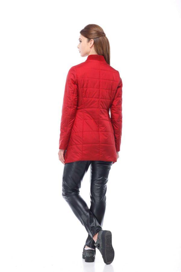 Куртка Лейла плащ. темно-червоний