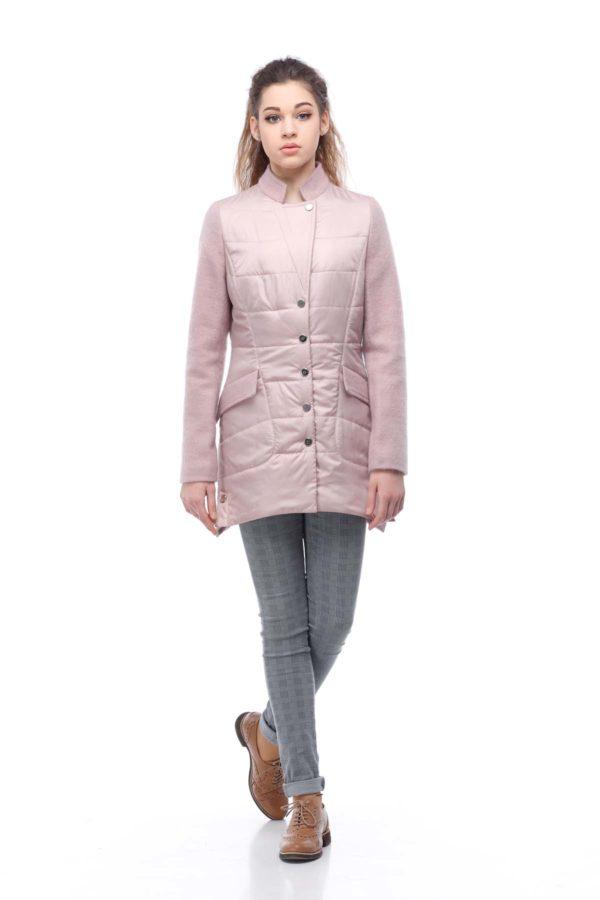 Куртка Лейла палт. пыльная роза