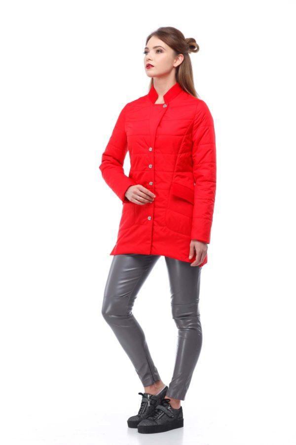 Куртка Лейла плащ. яскраво-червоний