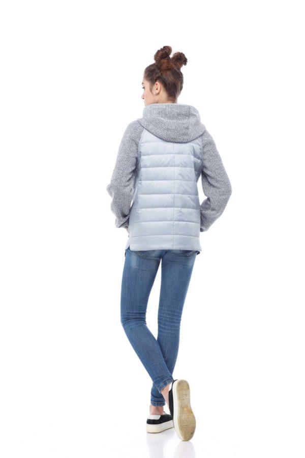 Куртка Фреш серый перламутр