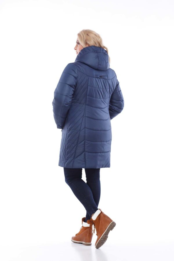 Куртка Стелла ful dal темно-синий матовый