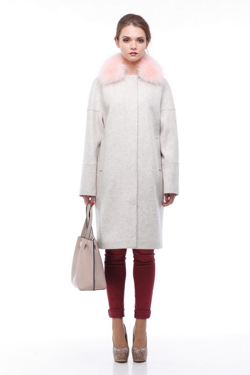 Зимове пальто Доменіка утепл. зефірний