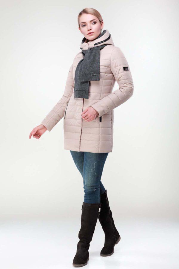 Зимняя куртка Марсела беж