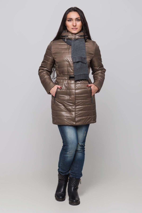 Зимняя куртка Марсела грибной
