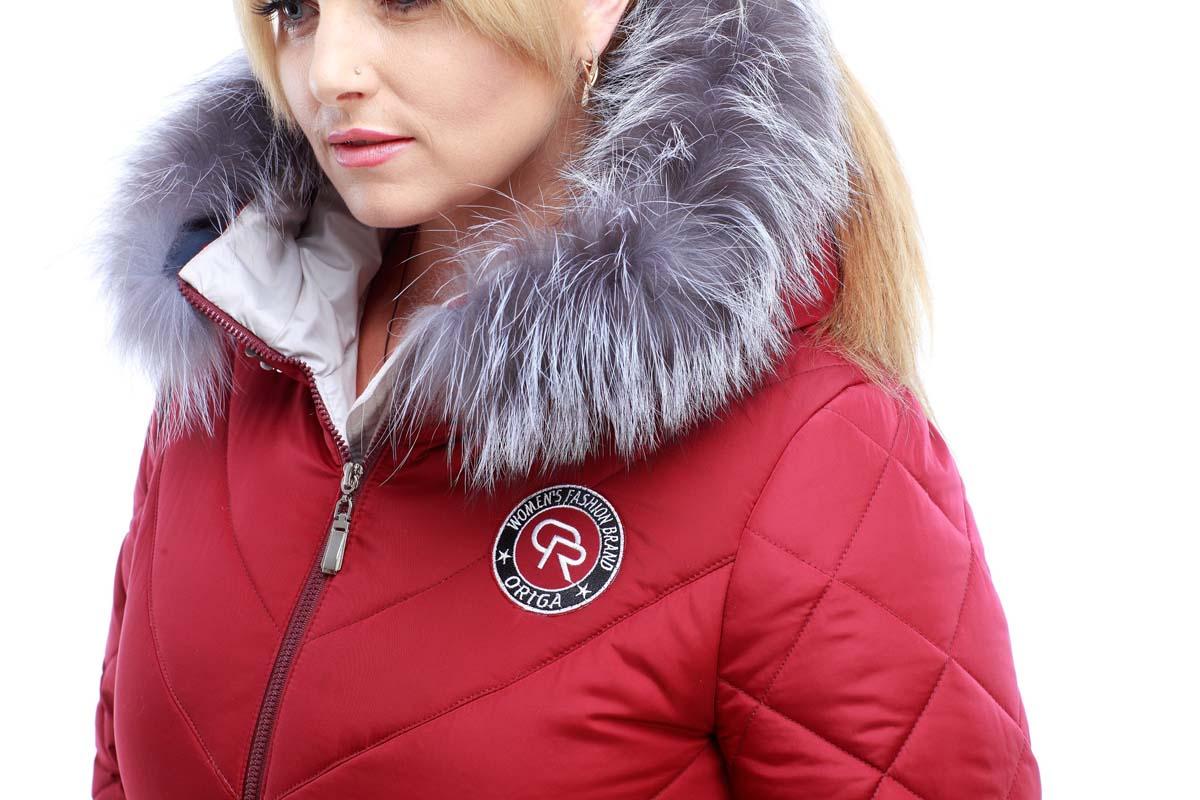 Зимове пальто стьогане Монтата фісташки марсала