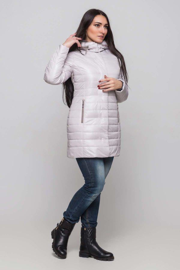 Зимняя куртка Марсела пломбир