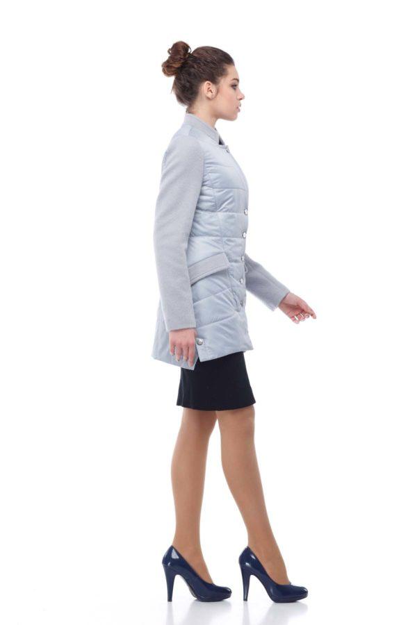 Куртка Лейла палт. серый перламутр