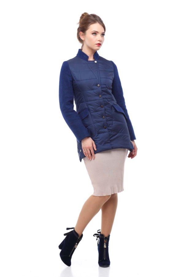 Куртка Лейла палт. темно-синий