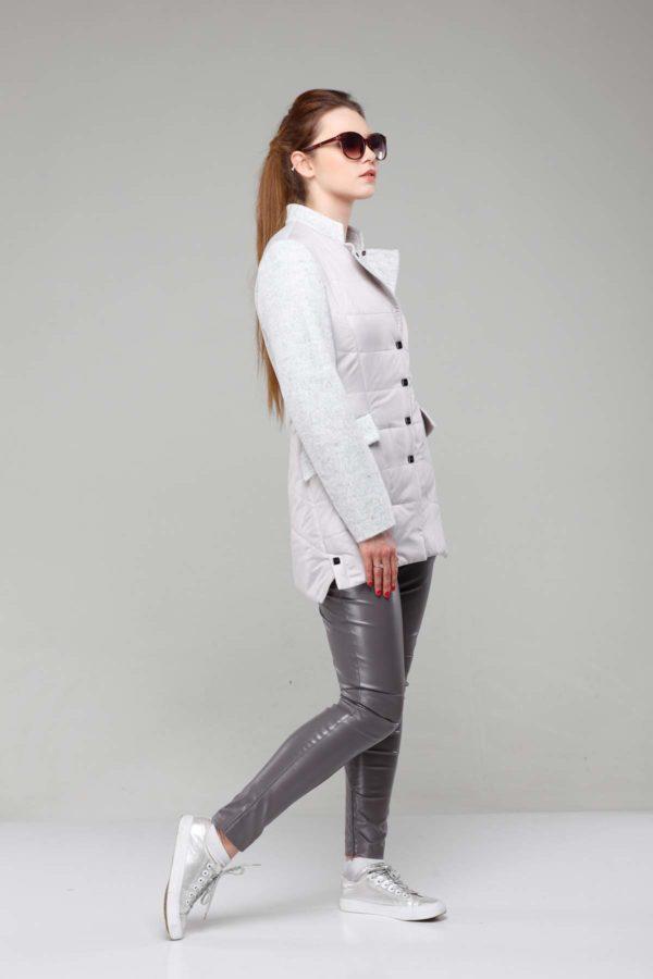 Куртка Лейла палт. пломбир