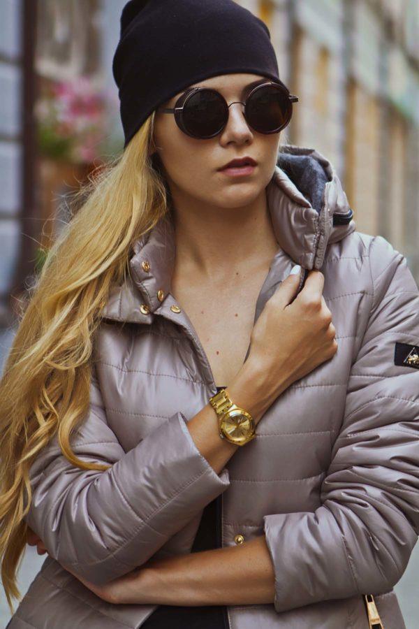 Зимняя куртка Марсела стальной
