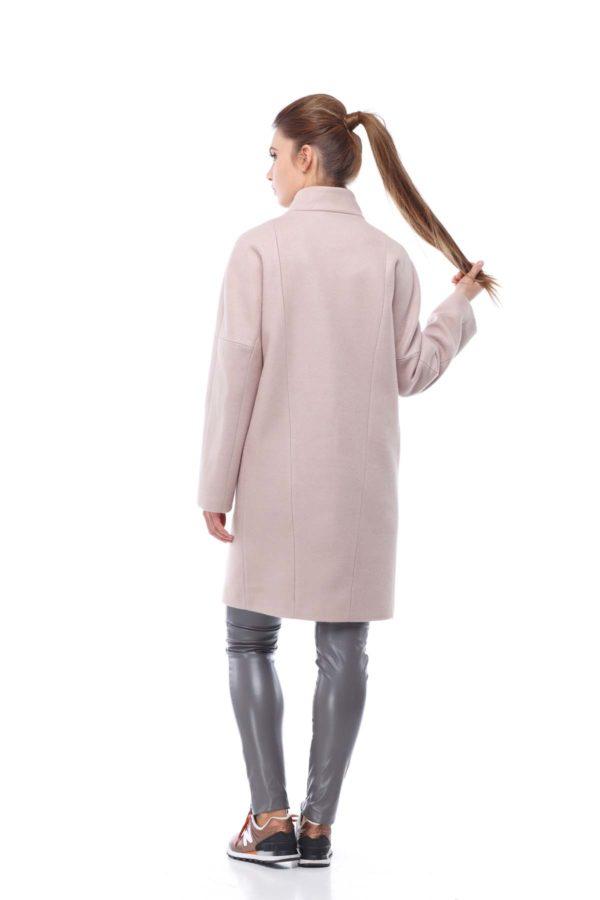 Осенние пальто Ангора Блюз пыльна роза