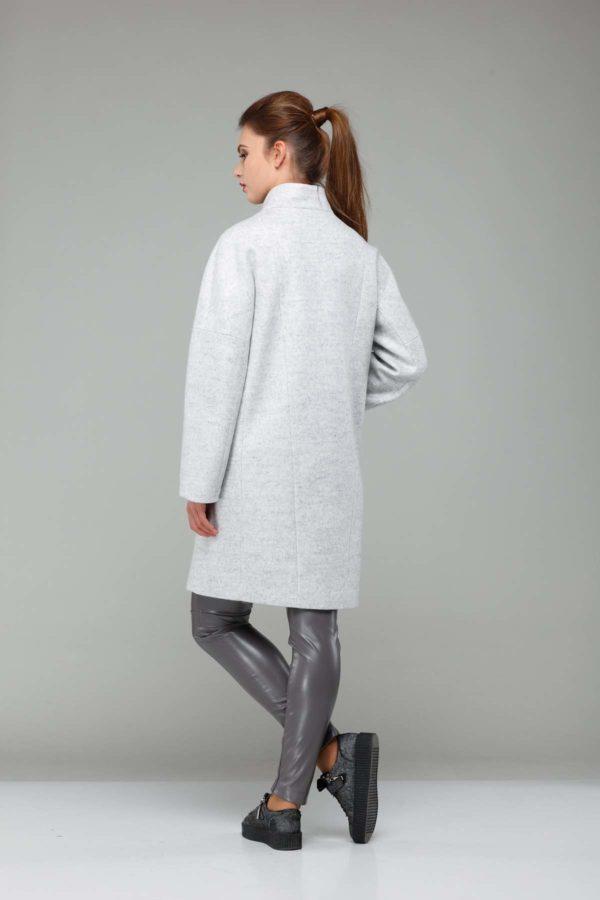 Пальто Осень Nick Блюз светло-серый