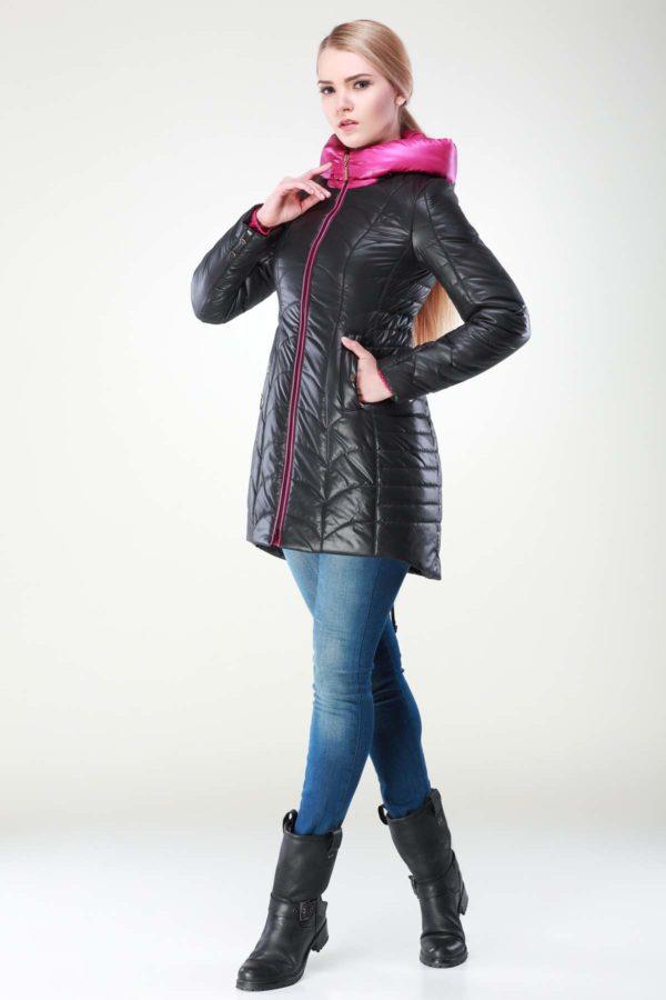 Зимова куртка Джулія чорний