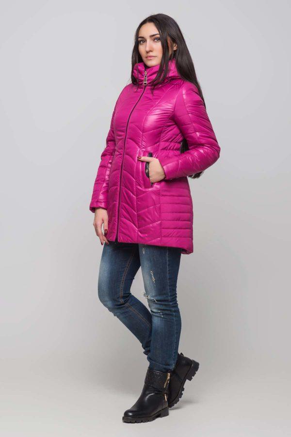 Зимова куртка Джулія фуксія