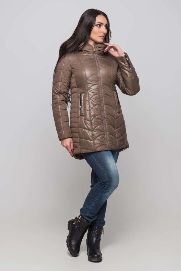 Зимова куртка Джулія грибний