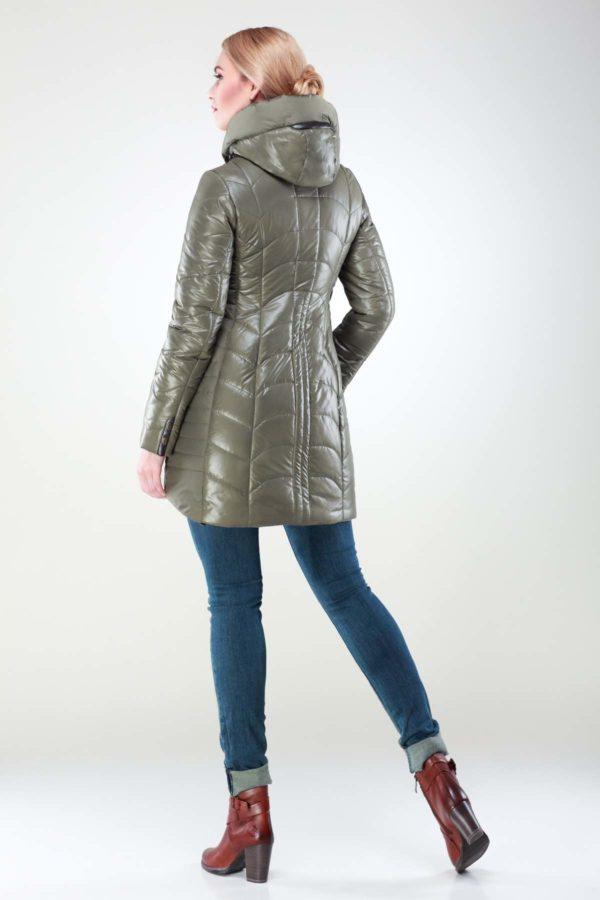 Зимова куртка Джулія св.хакі