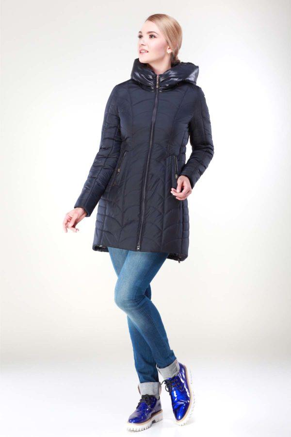 Зимова куртка Джулія темно-синій