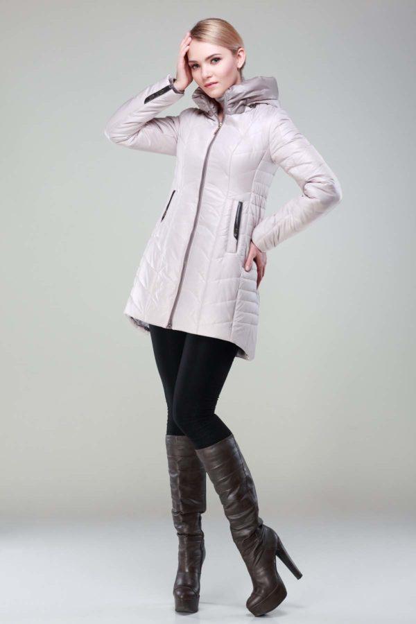 Зимова куртка Джулія перли