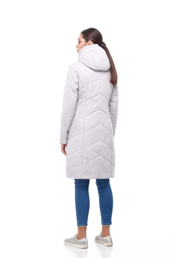 Пальто стеганое Камелия лед