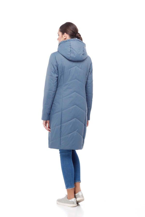Пальто стеганое Камелия джинс