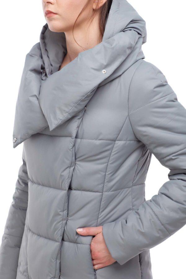 Пальто стеганое Комильфо Фисташка