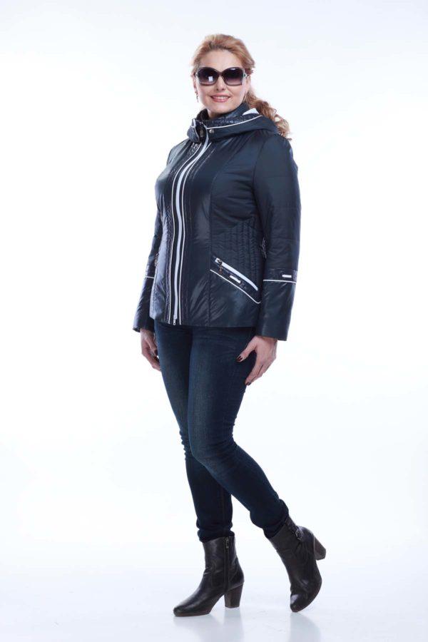 Куртка Кира 2 темно-синий