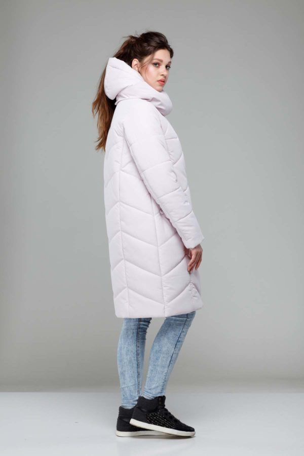 Зимове пальто Каріна, ammy, ful dal, принц св.пудра