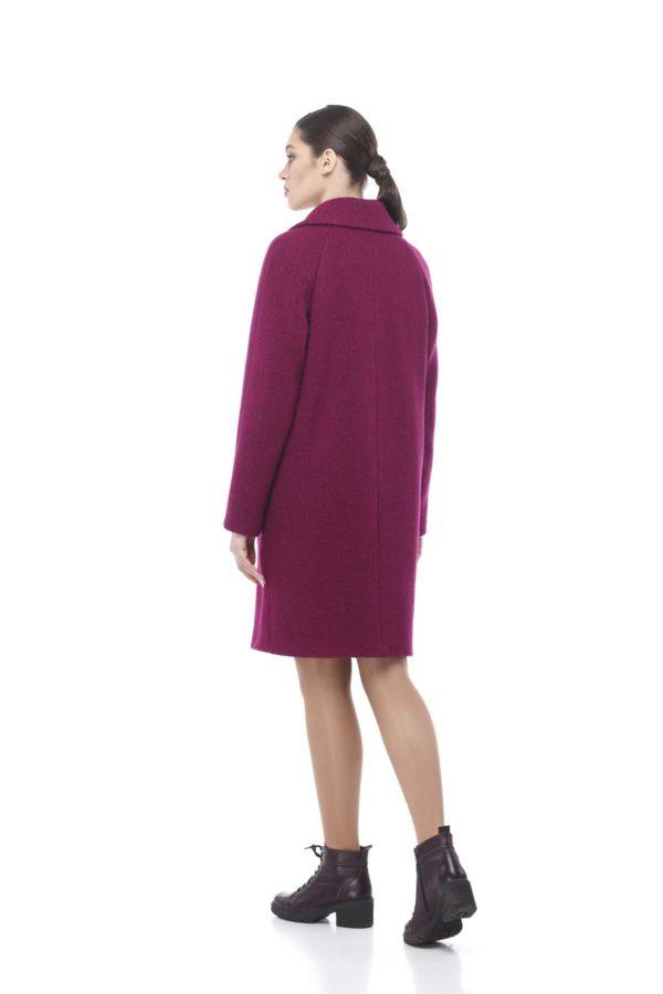 Купити пальто оптом Лора фуксія Баритон