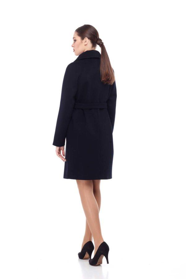 Купить пальто Лора черный Melton