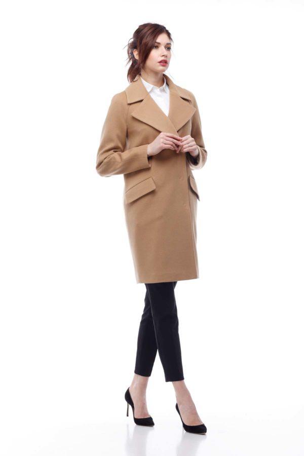Купить пальто Лора кэмел