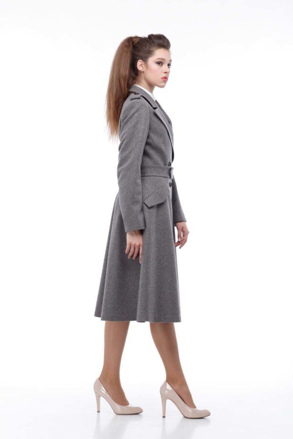 Купить пальто Leonardo Жасминка темный мокко