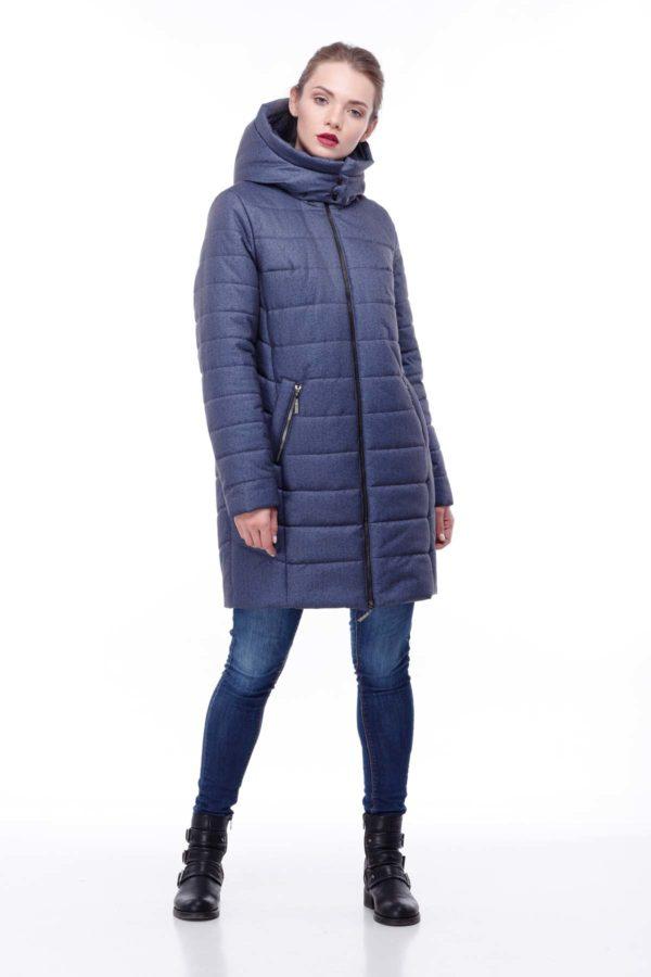 Зимняя куртка Веста Зима, флок, джинс