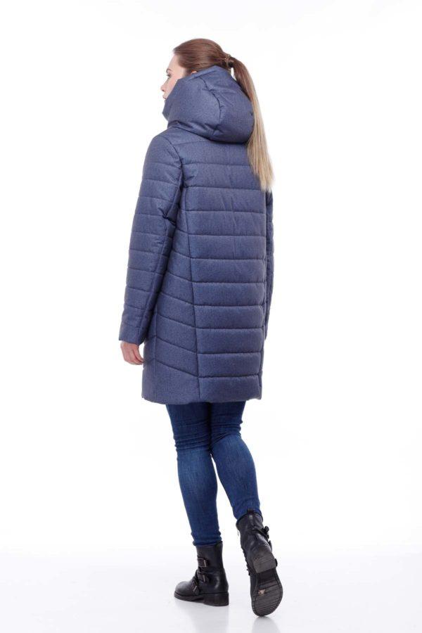 Зимова куртка Веста Зима, флок, джинс