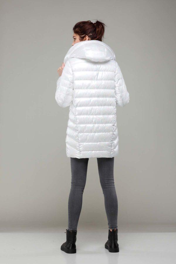 Зимняя куртка Веста Зима, голограмма, белый бензин