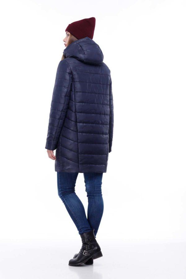 Зимняя куртка Веста Зима, милитари, темно-синий