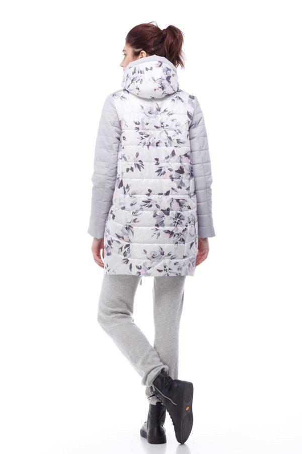 Весенняя Куртка Веста лед принт цветы ammy