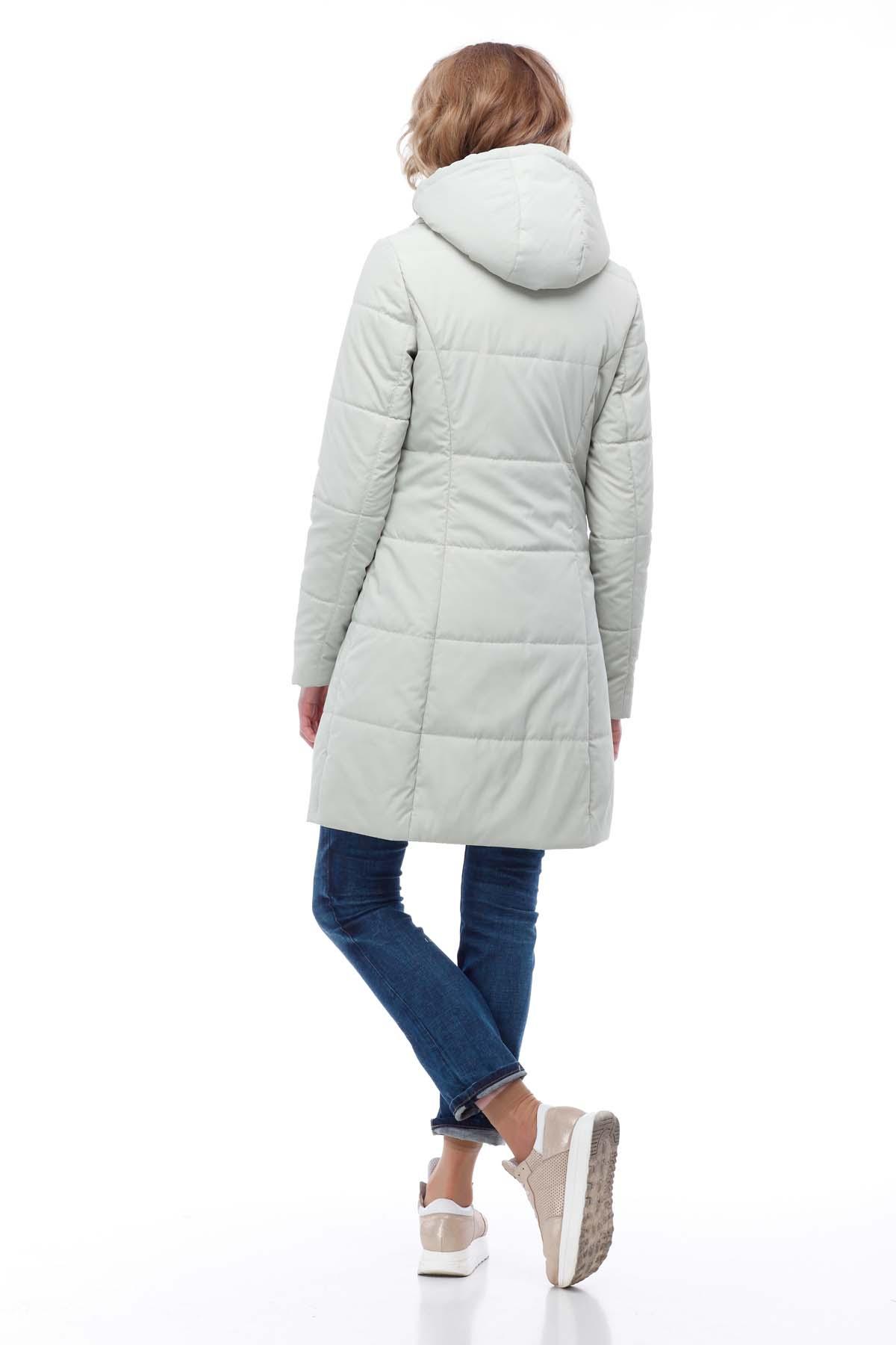 Пальто стеганое Лика св. оливка