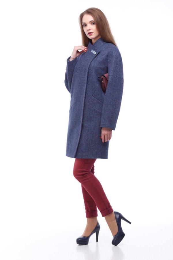 Пальто Осень Nick Блюз темный джинс
