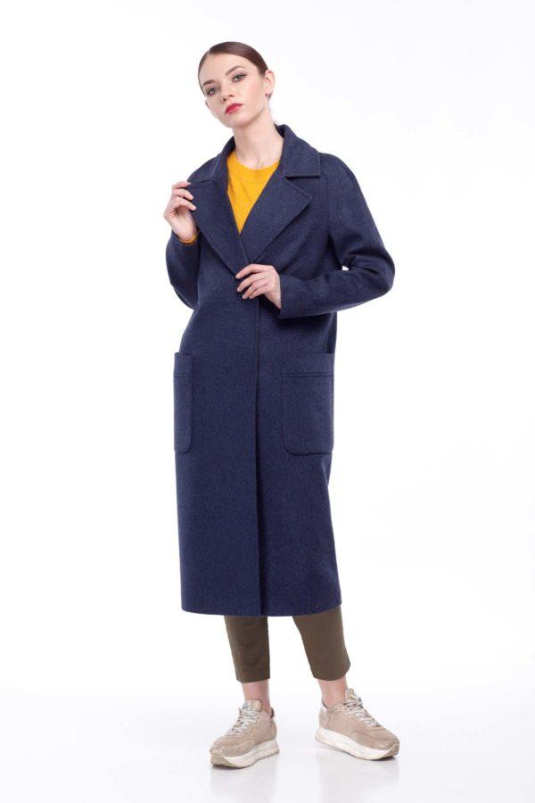 Купить пальто Лучиана джинс Шерсть Турция