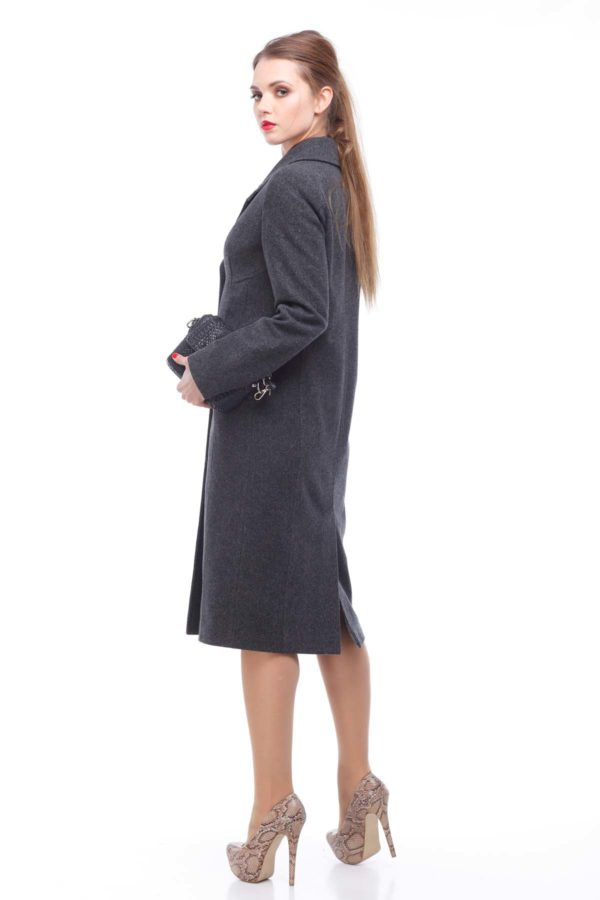 Пальто Віолетта темно-сірий