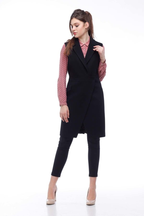 Пальто, melton, чорний