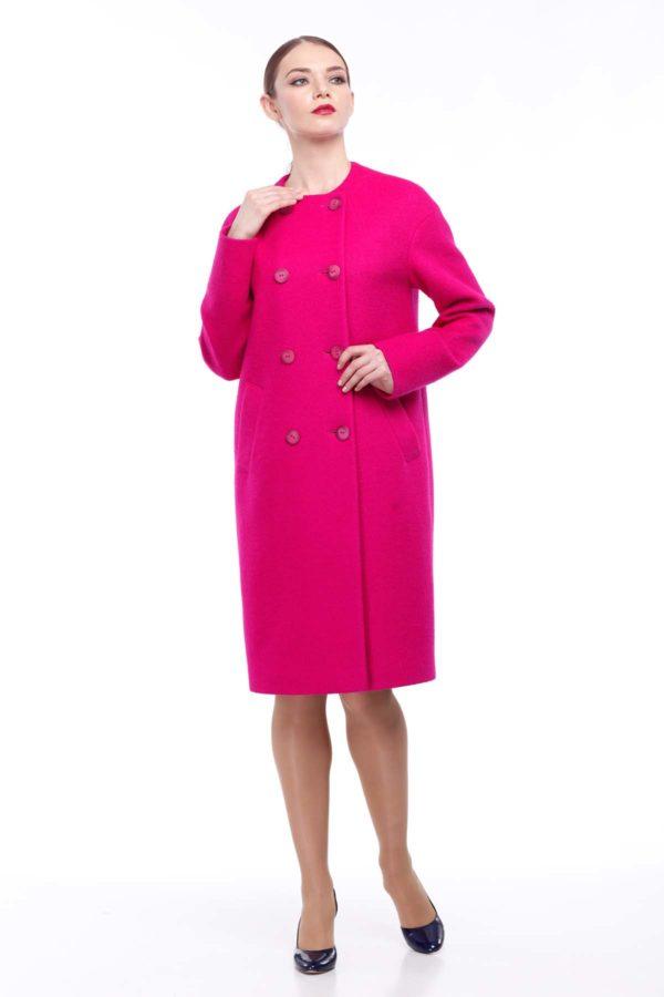 Купить пальто Lana темная фуксия