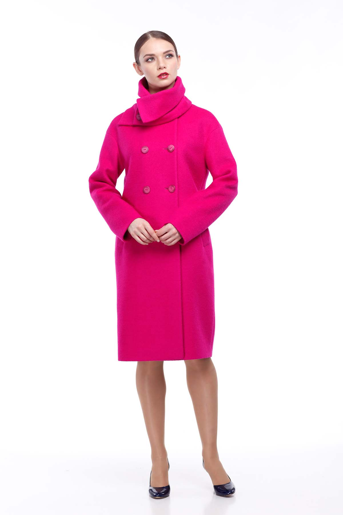 05bc2f5ad9e Купить пальто Lana темная фуксия